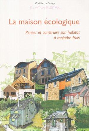 La maison écologique-de terran-9782359810370
