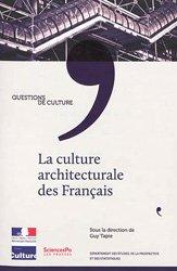La culture architecturale des Français