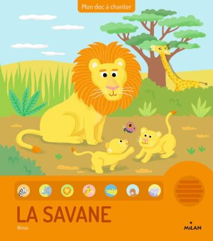 La savanne (doc à chanter)-milan-9782745983633
