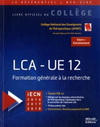 Lecture critique d'un article médical (LCA)-med-line éditions-9782846781312