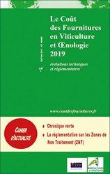 Le coût des fournitures en viticulture et oenologie 2019