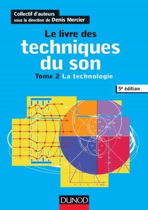 Le livre des techniques du son-dunod-9782100761593