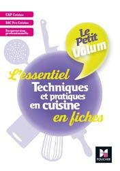 Le Petit Volum' - Techniques et pratiques en cuisine