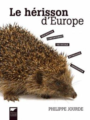 Le hérisson d'Europe-delachaux et niestle-9782603019924