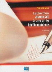 Lettre d'un avocat à une amie infirmière-éditions lamarre-9782757306826