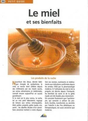 Le miel et ses bienfaits-aedis-9782842594251
