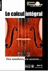 Le calcul intégral