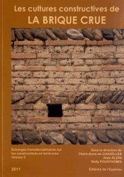 Les cultures constructives de la brique crue