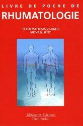 Livre de poche de rhumatologie