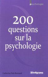 200 questions sur la psychologie