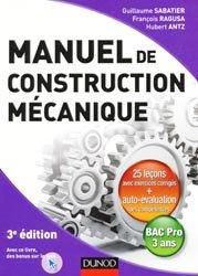 Manuel de construction mécanique