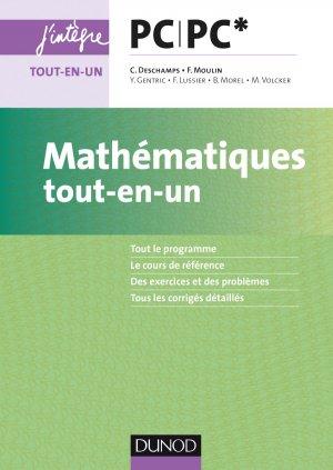 Mathématiques tout-en-un PC/PC*-dunod-9782100761876