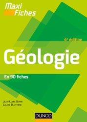 Maxi fiches de Géologie - 4e éd. - En 82 fiches