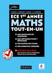 Maths ECE 1re année