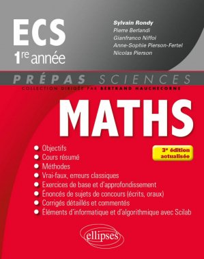 Maths ECS 1re année-ellipses-9782340016460