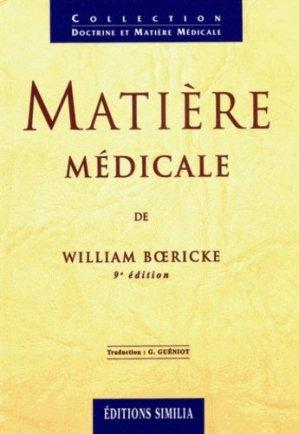 Matière médicale-similia-9782904928994