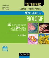 Mémo visuel de biologie - 4e éd.