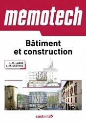 Memotech Bâtiment et construction 2015