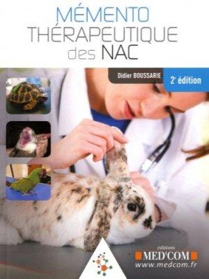 Mémento thérapeutique des NAC-med'com-9782354032418