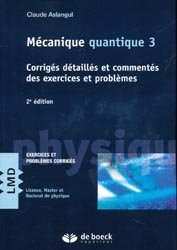 Mécanique quantique 3