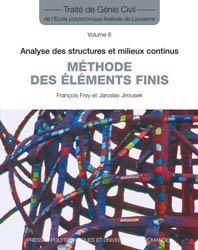 Méthode des éléments finis (TGC volume 6)