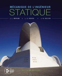 Mécanique de l'ingénieur Volume 1 Statique