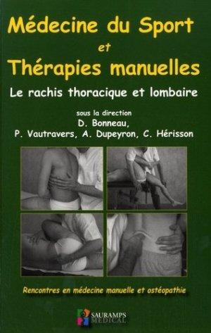Médecine du sport et thérapies manuelles-sauramps medical-9791030301120