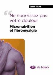 Micronutrition et fibromyalgie