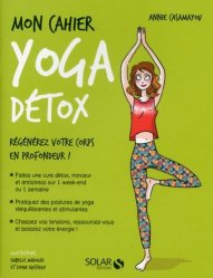 Mon cahier yoga detox-solar-9782263150173