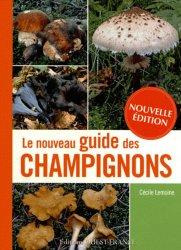 Nouveau guide des champignons-�ditions ouest-france-9782737358487