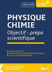 Objectif prépa scientifique: Physique