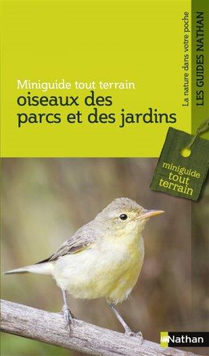 Oiseaux des parcs et des jardins-nathan-9782092788585