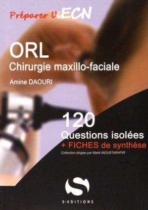 ORL - Chirurgie maxillo-faciale-s editions-9782356401373