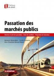 Passation des marchés publics-le moniteur-9782281132267