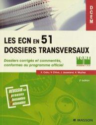 Pack Les ECN en 51 dossiers transversaux