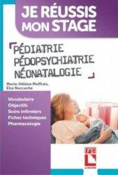Pédiatrie Pédopsychiatrie Néonatalogie