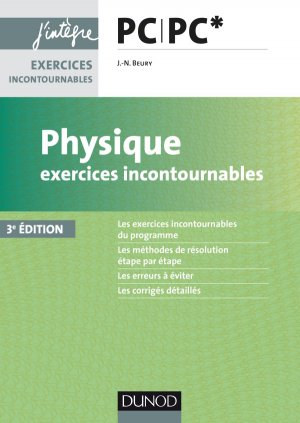 Physique Exercices incontournables PC PC*-dunod-9782100762668