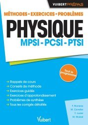 Physique MPSI - PCSI - PTSI-vuibert-9782311402254