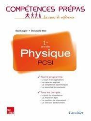 Physique 1ère année PCSI