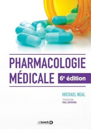 Pharmacologie médicale-de boeck superieur-9782807306110
