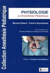 Physiologie en anesthésie pédiatrique