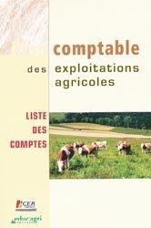 Plan comptable des exploitations agricoles liste des comptes
