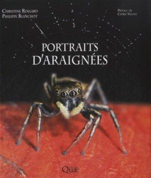 Portraits d'araignées-quae -9782759222278