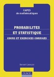 Probabilit�s et statistique - Cours et exercices corrig�s-dunod-9782100041657