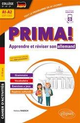 Prima! Cahier d'activités pour apprendre et réviser son allemand