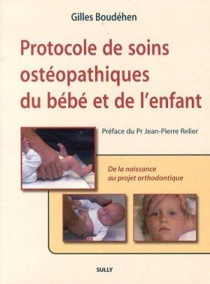 Protocole de soins ostéopathiques du bébé et de l'enfant-sully-9782354321055