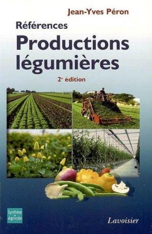 Productions légumières-synthèse agricole / lavoisier-9782910340483