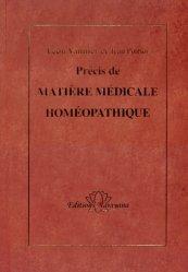 Précis de Matière Médicale homéopathique