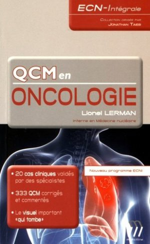 QCM en Oncologie-medicilline-9782915220742