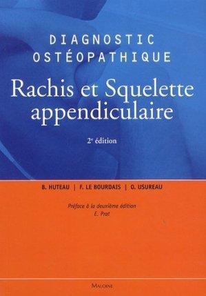 Rachis et squelette appendiculaire-maloine-9782224034016